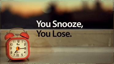 snooze-lose
