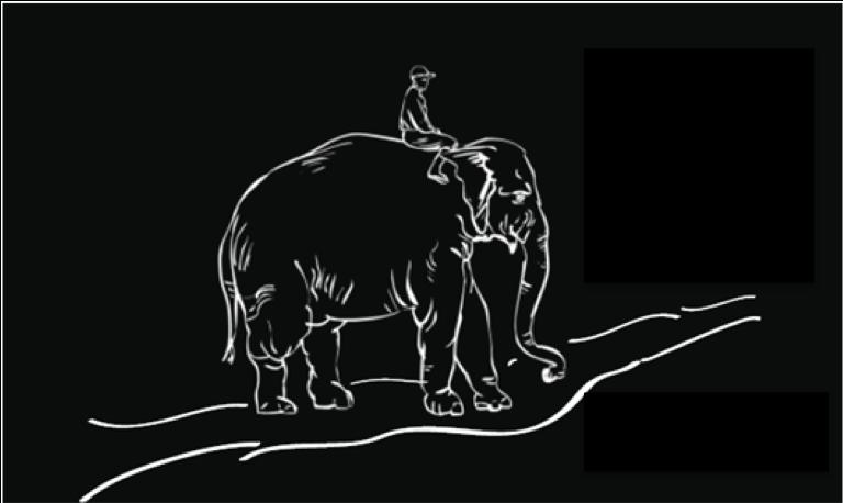 Rytter og elefant-3